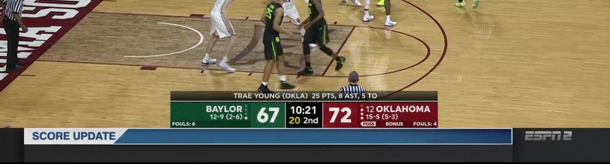 Another New Espn Graphics Package For College Basketball Sport Center Tvnewstalk Net