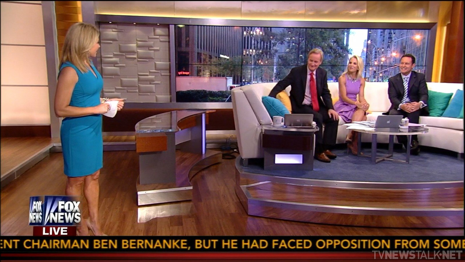Couch toss to news