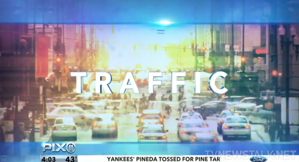traffic transition graphic