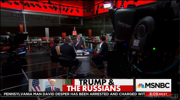 Chris Hayes All in Studio 3A