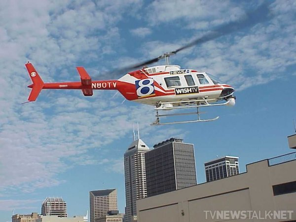 WISH-TV Chopper 8