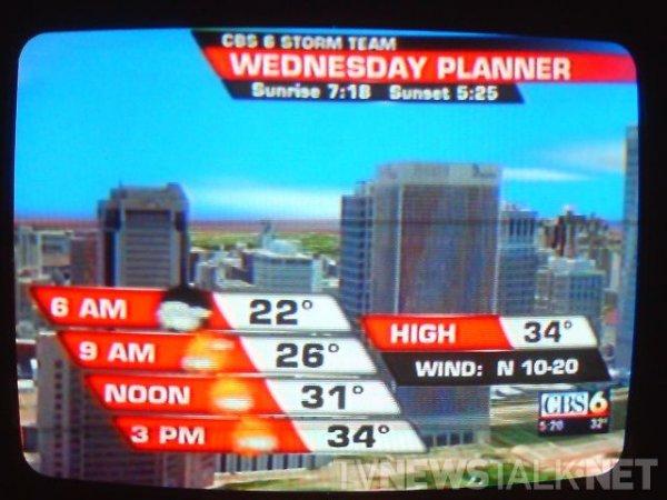 WTVR Richmond - Day Planner graphic