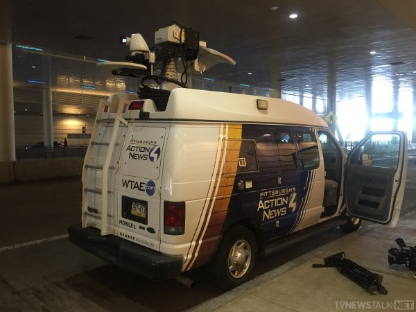 WTAE Pittsburgh ENG Truck