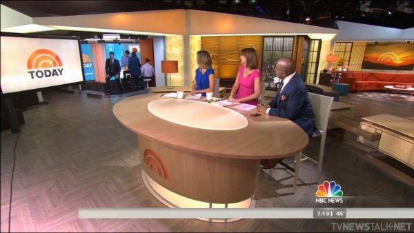 Desk toss to Orange Room