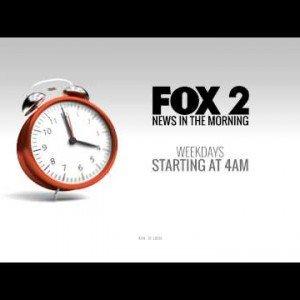 FOX 2 4AM News Morning Clock ID VO Proof