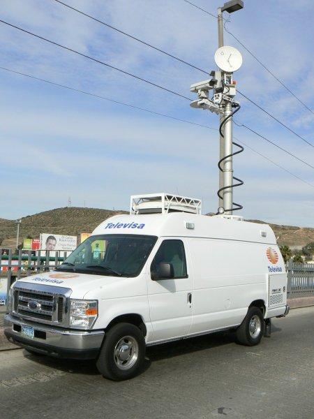 televisa ENG Truck XEWT-12 Tijuana